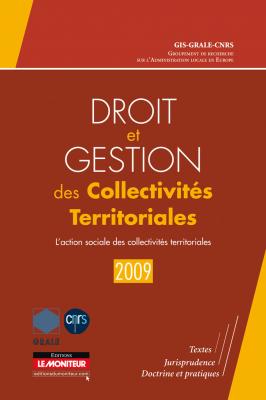 Droit et gestion des collectivités territoriales – 2009