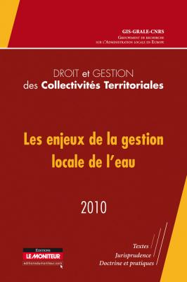 Droit et gestion des collectivités territoriales – 2010