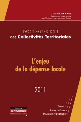Droit et gestion des collectivités territoriales – 2011