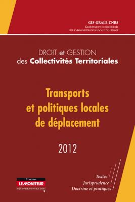Droit et gestion des collectivités territoriales – 2012
