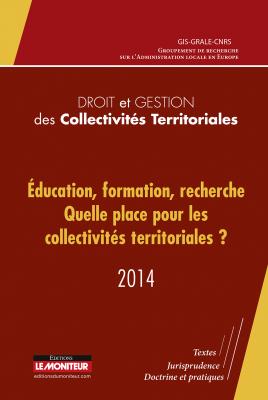 Droit et gestion des collectivités territoriales - 2014