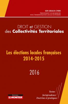 Droit et gestion des collectivités territoriales - 2016