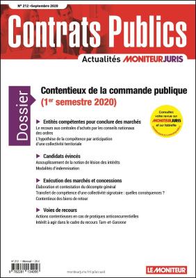 Contrats publics 212 - Septembre 2020