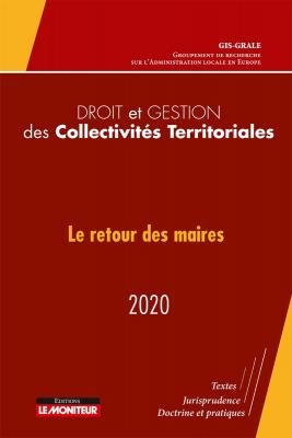 Droit et Gestion des Collectivités Territoriales - 2020
