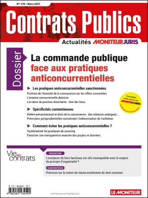 Contrats publics 218 - Mars 2021