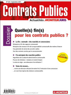 Contrats publics 223 - Septembre 2021
