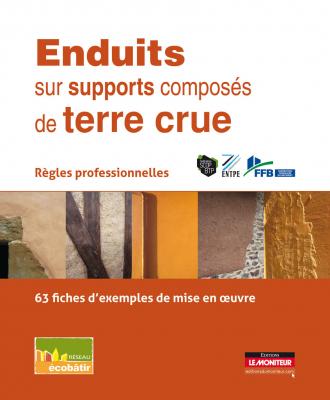 Enduits sur supports composés de terre crue