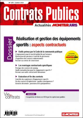 Contrats publics n° 205 - Janvier 2020
