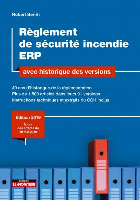 Règlement de sécurité incendie ERP avec historique des versions