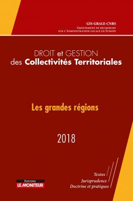 Droit et gestion des collectivités territoriales - 2018