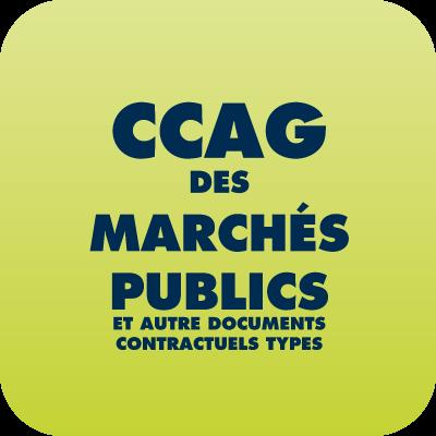 CCAG des marchés publics