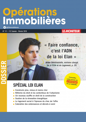Operations Immobilieres - Loi Elan - Fevrier 2019