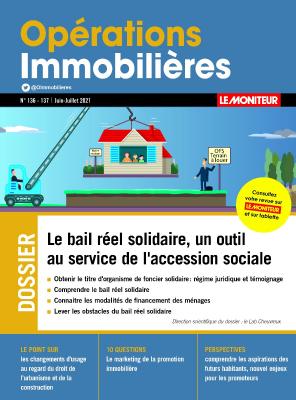 Opérations Immobilières 136-137 Juillet 2021