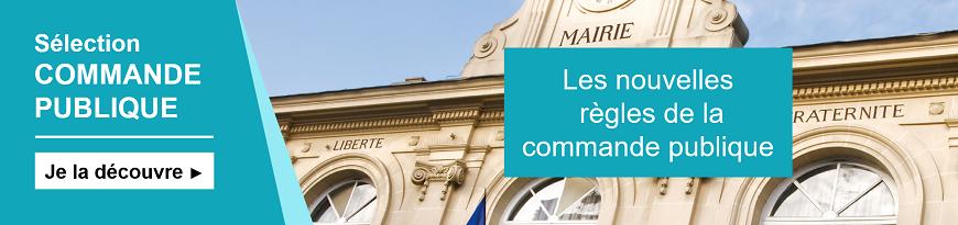 Editions Moniteur - Sélection Commande publique